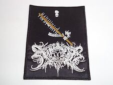 XASTHUR MALEFIC/LOGO BLACK METAL EMBROIDERED PATCH