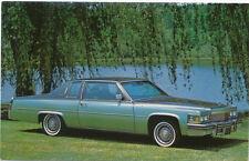 Cadillac Coupe De Ville for 1979 original Postcard