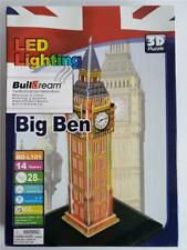 Buildream Big Ben 3D Led Lighting Puzzle New in Box