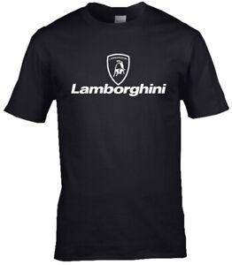 Lamborghini Logo Premium cotton T-shirt