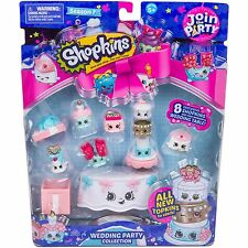 New Shopkins Season 7 Wedding Party Collection Join The Party 8 Wedding Table