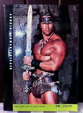Arnold Schwarzenegger Book. Extremely RARE Japanese Import. 127 Pages. Films.
