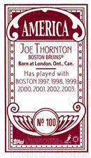 2003-04 Topps C55 Minis American Red #100 Joe Thornton