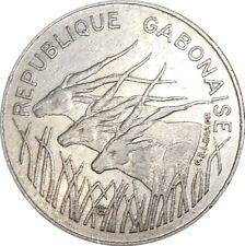 Central African States Gabon 100 Francs 1984 KM#13 République Gabonaise (2763)