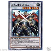 X-Saber Souza X 3 CT09-EN017 Super YUGIOH