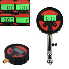 LCD Digital Tire Tyre Air Pressure Gauge Tester For Car Auto Motorcycle Bike PSI