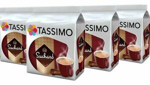 TASSIMO Suchard Hot Chocolate T Discs Pods 16/32/48/80 Drinks