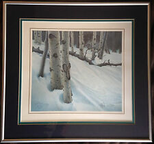 Midnight Eyes by Scott Kennedy 1993 Framed Paper Lithograph Signed and numbered