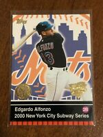 2000 World Series Topps Baseball Base Card - Edgardo Alfonzo - New York Mets