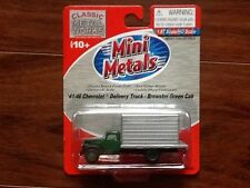 CLASSIC METAL WORKS 1/87 HO 41/46 CHEVROLET DELIVERY TRUCK GREEN CAB # 30320 F/S