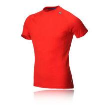 Hauts et maillots de fitness rouge taille S pour homme