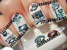 Superbowl LII》NFL PHILADELPHIA EAGLES FOOTBALL LOGOS》10 Designs》Nail