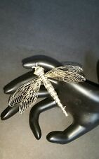 Large Signed and Dated Dragon Pin 3 3/4 Inches