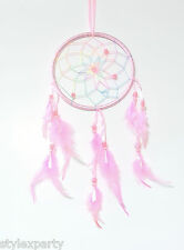 Indian Style Dream Catcher Room Decoration Ideal for Child Children Bedroom Pink