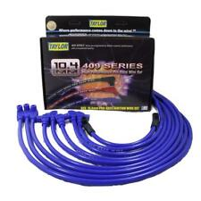 Taylor Spark Plug Wire Set 79681; 409 Pro Race 10.4mm Blue 90° for Chevy V8