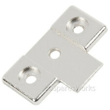 Genuine Zanussi Washing Machine Plaque Hinge Bracket 1240675007