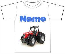 T-shirts, débardeurs et chemises rouge à motif Personnalisé pour garçon de 2 à 16 ans