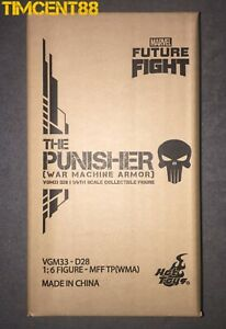 Ready Hot Toys VGM33D28 Marvel Future Fight 1/6 The Punisher War Machine Armor