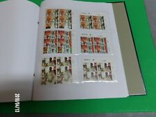 """1997 Israel Stamps """"ETHNIC COSTUMES"""" Full Sheets, Tab Rows, TB's, PB's Set X 3"""