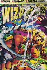 1993 WIZARD Comics Magazine #22 Deadpool Sabertooth Cover
