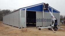 Industrie-Lagerhalle 12,5x15x4,3 sk 90kg Schneelasthalle Leichtbauhalle Aluhalle