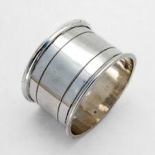 Dutch Large Napkin Ring 833 Standard Silver