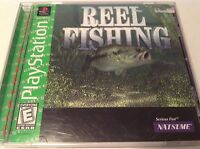 Reel Fishing Sony PS1 PlayStation 1 Greatest Hits Complete Game