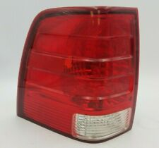 2004 04 Ford Expedition Left Driver Side Tail Light Rear Lamp Red Lens Stock OEM