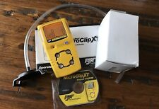 BW Technologies MicroClip XT Multi Gas Monitor Detector Calibrated, New O2