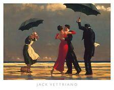 The Singing Butler Jack Vettriano Print Poster Love Romance Dancing Beach 32x24
