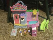Pre Owned Fisher- Price Ice Cream Shop & Pool. Sweet Streets. See Photos.