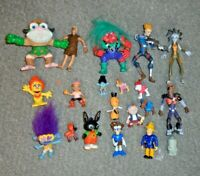 BING PAW PATROL TROLLS FLINTSTONES FIREMAN SAM ETC JOB LOT BUNDLE FIGURES - A7
