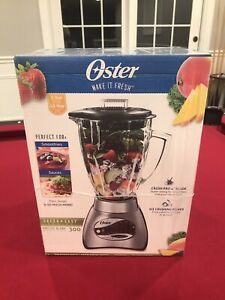 Oster 6811 Core 12-speed Brushed Nickel Blender with Glass Jar