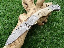 Taschenmesser Damast, Damascus Folding Knife  00905