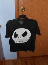 Jack Skellington Face T Shirt Large