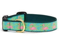Dog Puppy Design Collar - Up Country - Made In USA - Flamingo - Choose Size