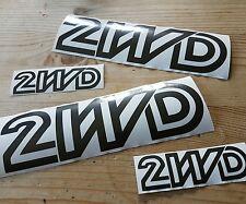 Vw t3 t25 Transporteur Sticker Wedge 2wd Dk Gris ou Blanc