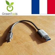 Câble adaptateur USB 3.1 Type C Vers USB 3.0 mâle