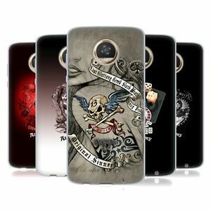 OFFICIAL ALCHEMY GOTHIC WOMAN SOFT GEL CASE FOR MOTOROLA PHONES