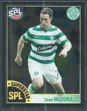 PANINI 2009-S.P.L.COLLECTION-#125-CELTIC-SCOTT McDONALD-SUPERSTAR-SILVER FOIL