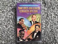 Greatest Hits Of Tommy Dorsey.Duke Ellington.Glenn Miller.Artie Shaw Cassette.VG