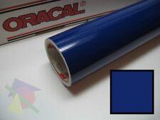 "24"" X 10yd - Cobalt Blue Oracal 751 High Performance Cast Wrapping Vinyl"
