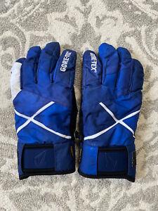Volcom Gloves Blue Black White Men's XL