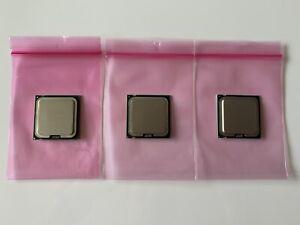 2x Intel® Core™2 Duo Prozessor SLB9J, E8400 3 GHz + 1x SLA98, E4400 2 GHz