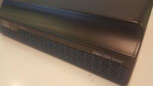 Cisco 1900 Series CISCO 1941/K9  V02 Router w/Ear Racks- New!