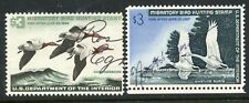 1965-66 FEDERAL DUCK STAMPS SIGNED RW32-33