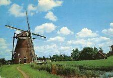 Alte Postkarte - Kinderdijk - Holländische Mühle