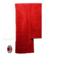 Set 2 asciugamani MILAN 1+1 spugna rossi mani-viso e intimo