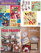 Mix & Match Easy Classic Projects & 75+ Motifs, Plastic Canvas Pattern Books NEW