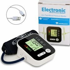 Electric Blood Pressure Monitor Tonometer Medical Equipment Arm Apparatus for